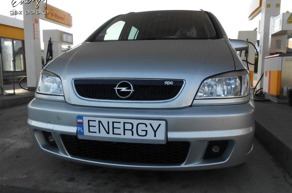 Opel Zafira 2.0T 2002r LPG