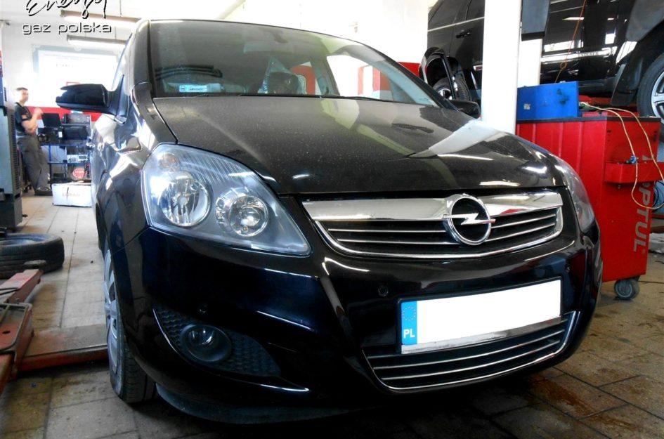 Opel Zafira 1.8 2009r LPG