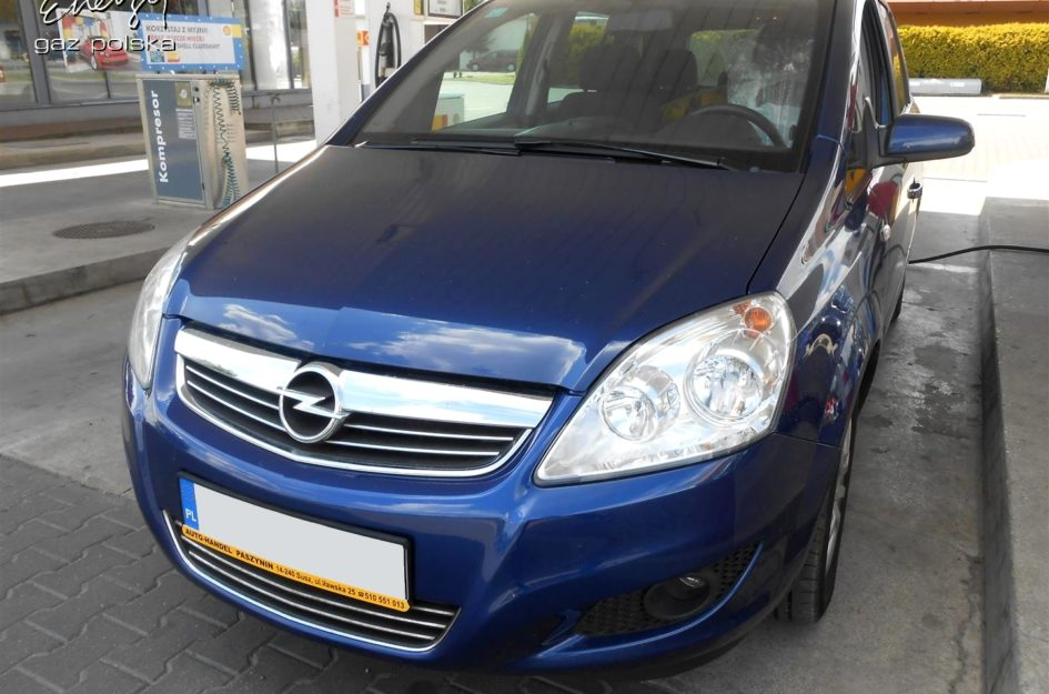 Opel Zafira 1.8 2008r LPG