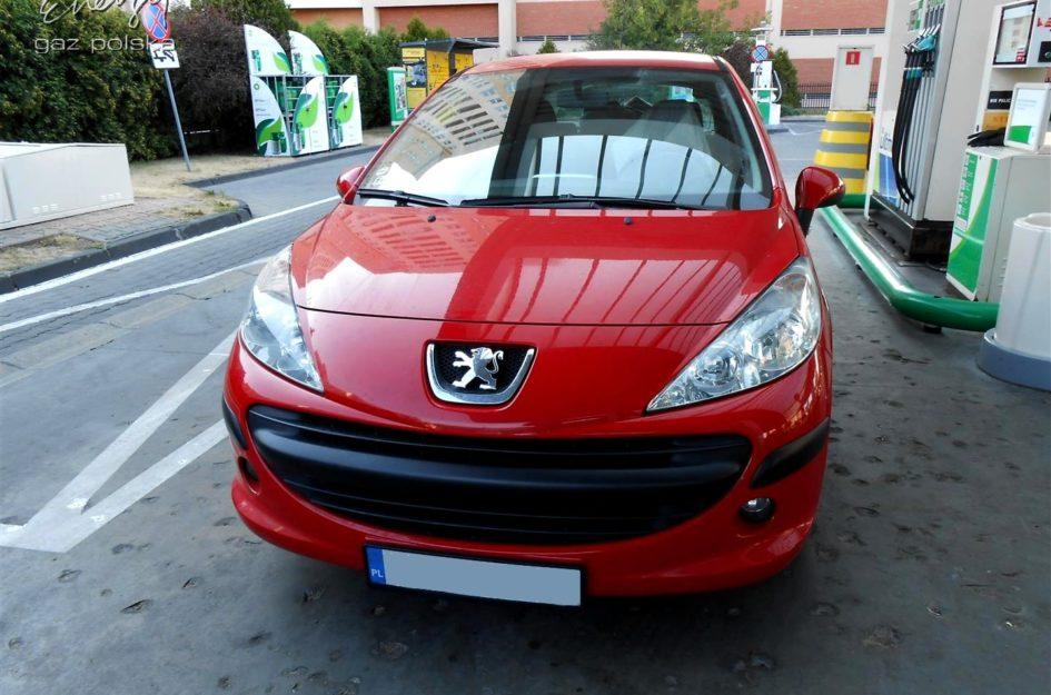 Peugeot 207 1.4 2007r LPG