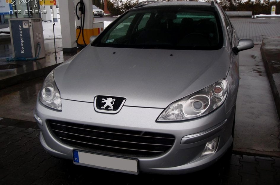 Peugeot 407 2.0 2008r LPG