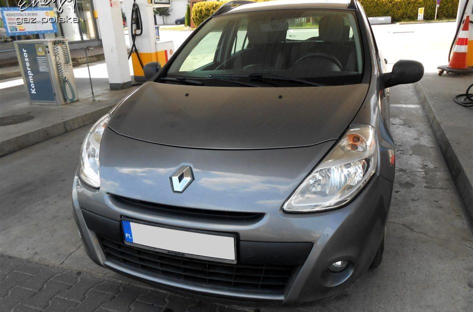 Renault Clio 1.2 2009r LPG