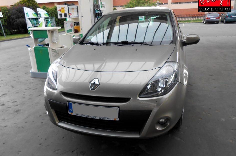 Renault Clio 1.2 2011r LPG