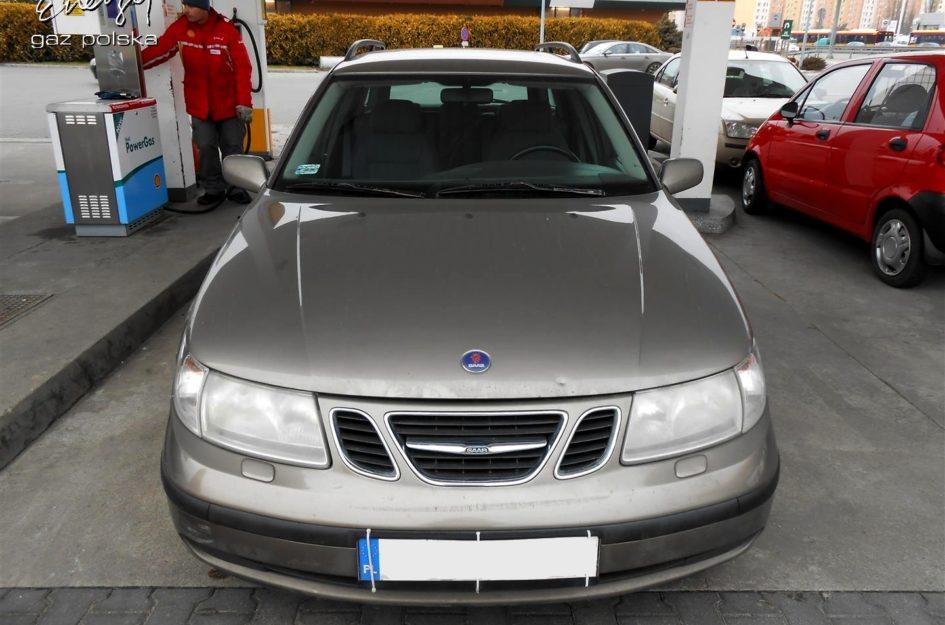 Saab 9-5 2.0T 2001r LPG