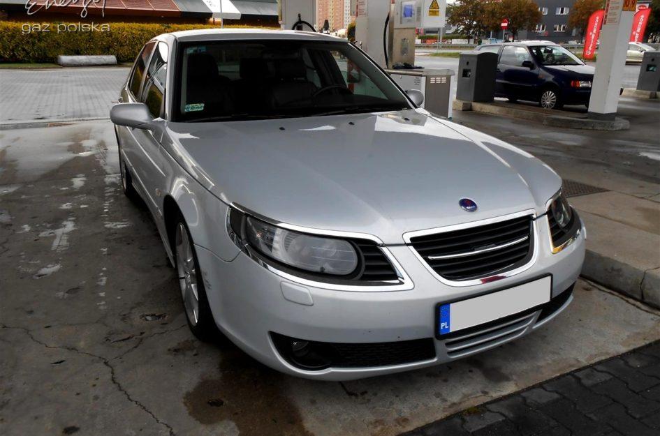 Saab 9-5 2.3 Turbo 2007r LPG