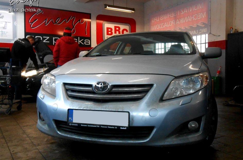 Toyota Corolla 1.6 2008r LPG