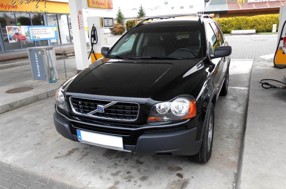 Volvo XC90 2.5T 2006r LPG