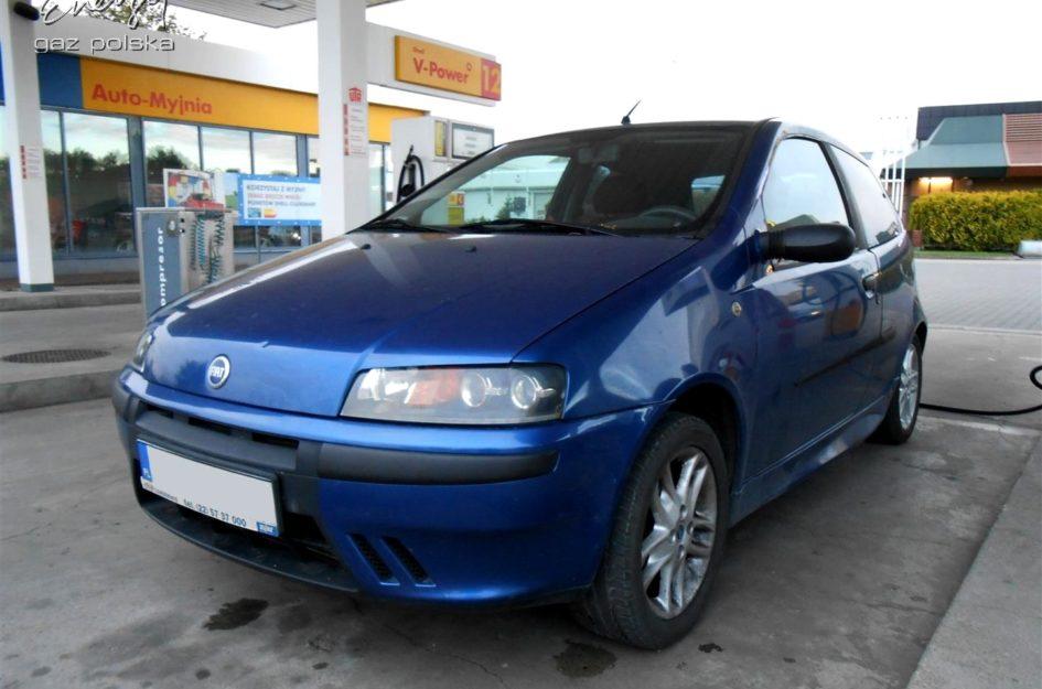 Fiat Punto 1.2 2000r LPG