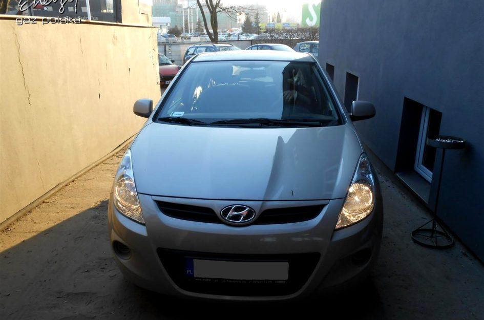 Hyundai i20 1.2 2011r LPG