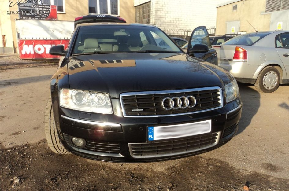 Audi A8 4.2 V8 LPG