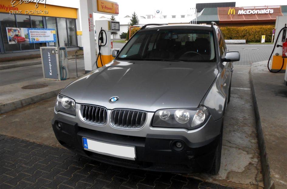 BMW X3 2.5 2005r LPG