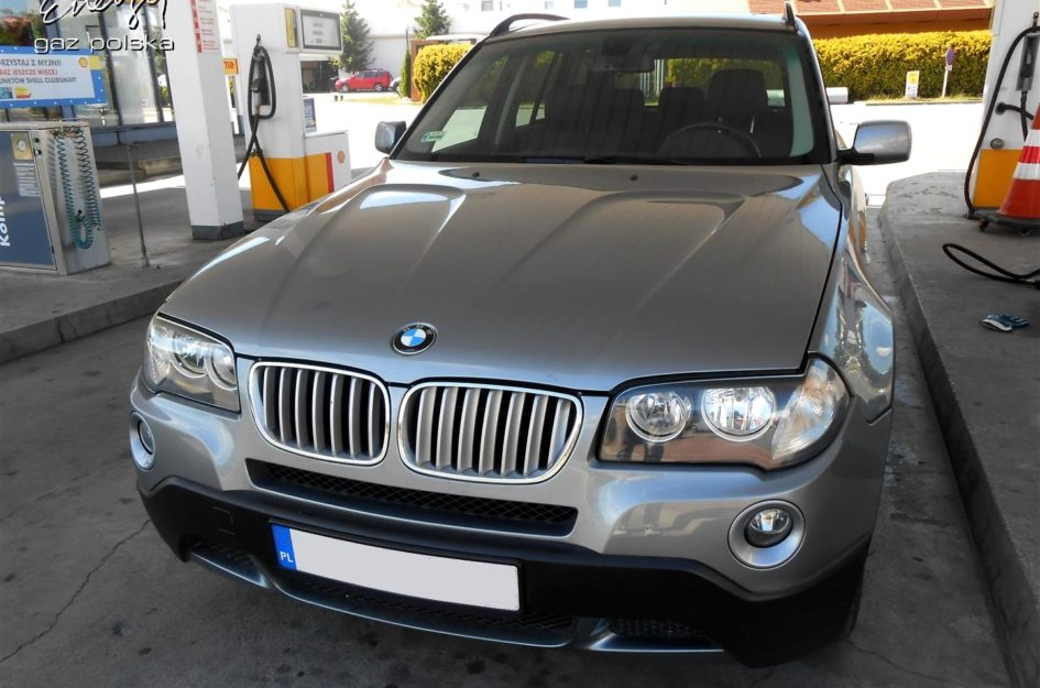 BMW X3 3.0 2007r LPG