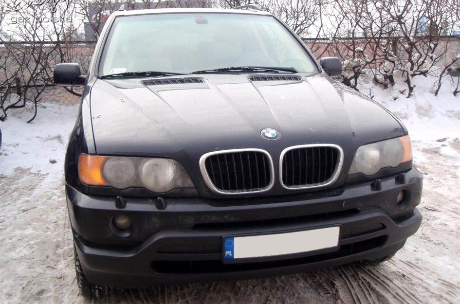 BMW X5 3.0 2001r LPG