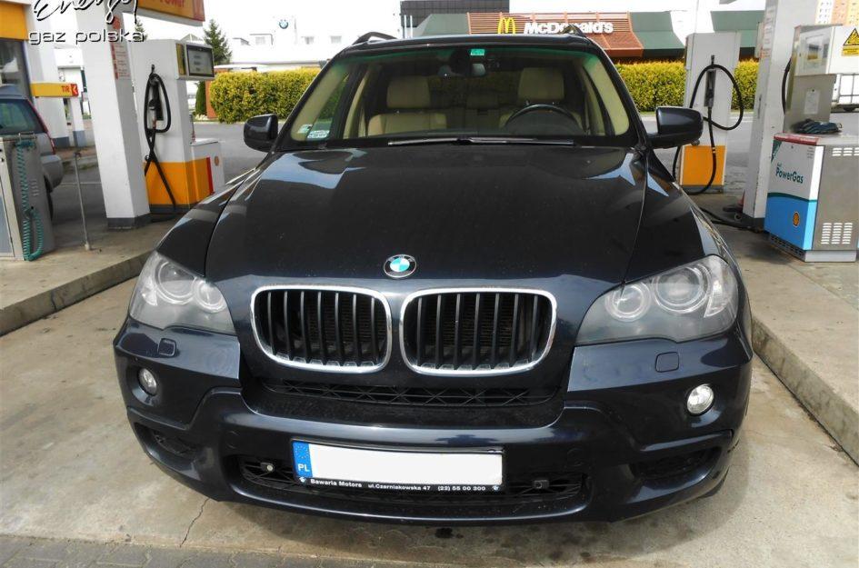 BMW X5 3.0 2007r LPG