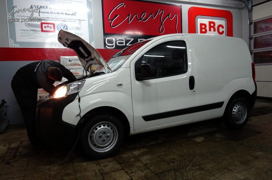 Fiat Fiorino 1.4 2015r LPG