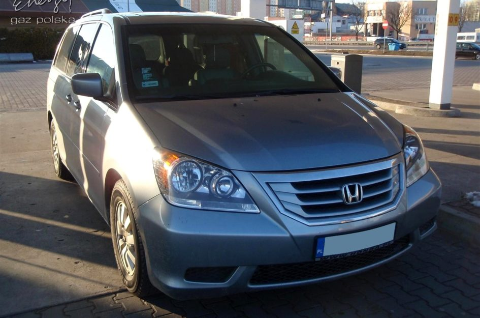 Honda Odyssey 3.5 2008r LPG