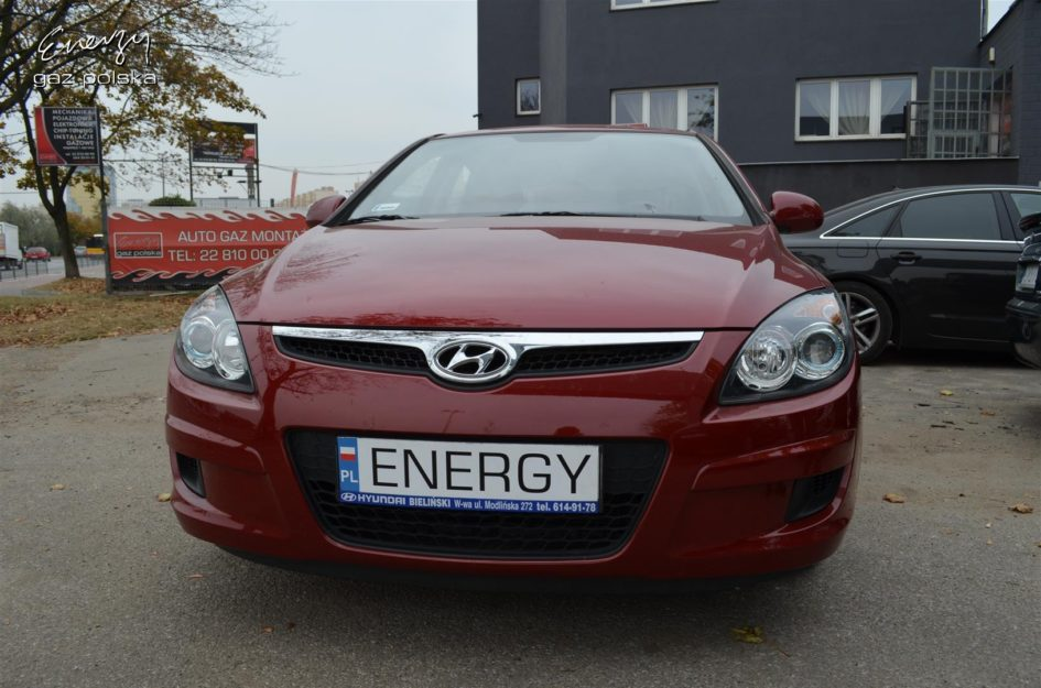 Hyundai i30 1.4 2010r LPG