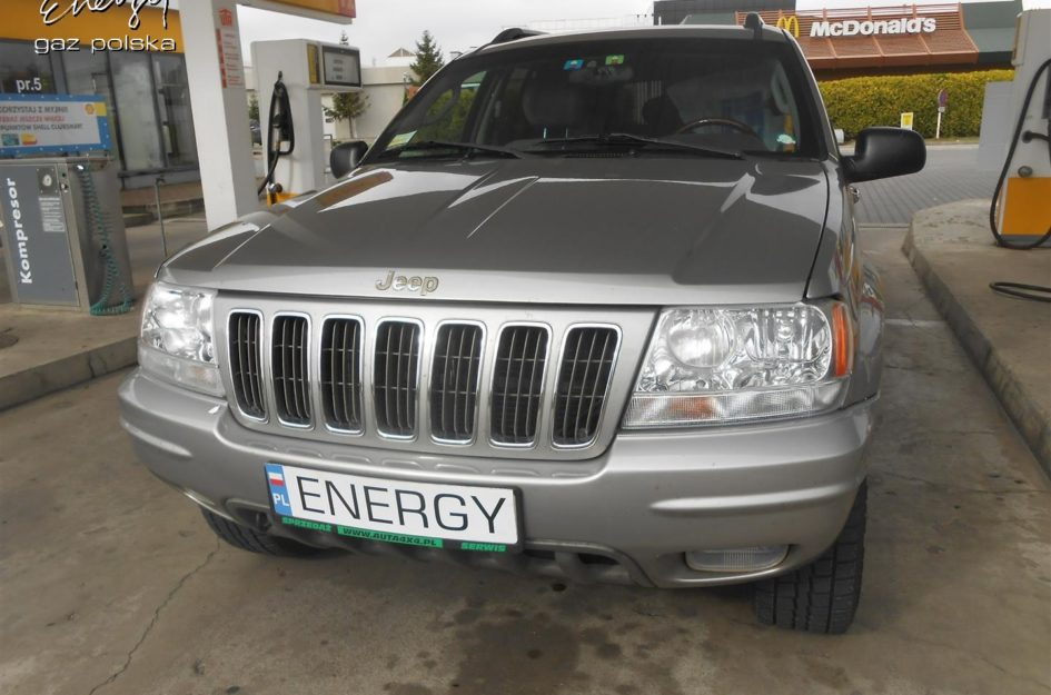 Jeep Grand Cherokee 4.7 V8 2002r LPG