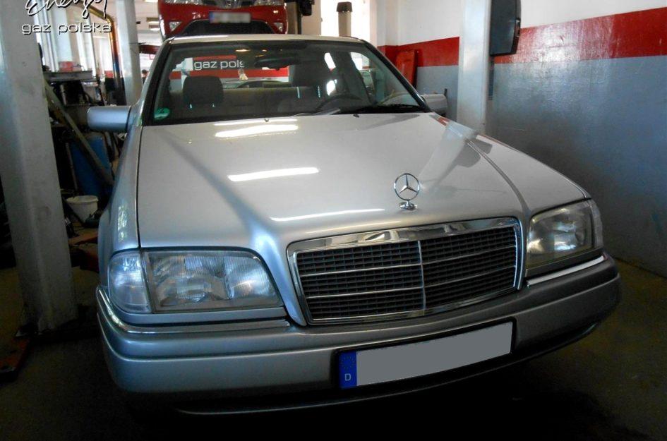 Mercedes C-klasa 2.0 1995r LPG