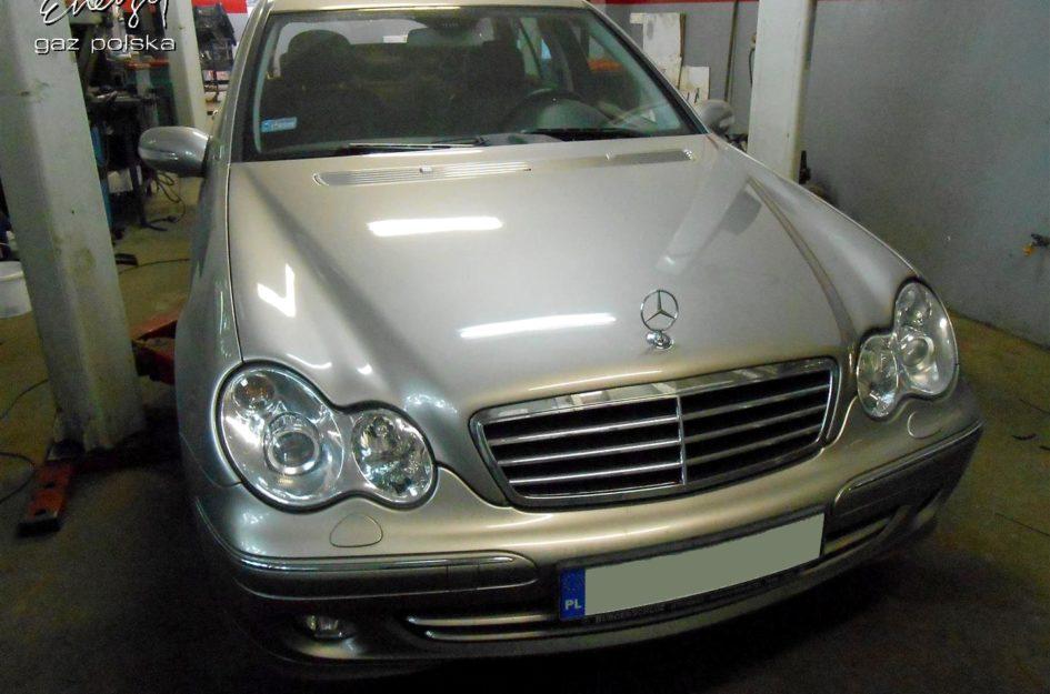 Mercedes C-klasa 1.8 2007r LPG