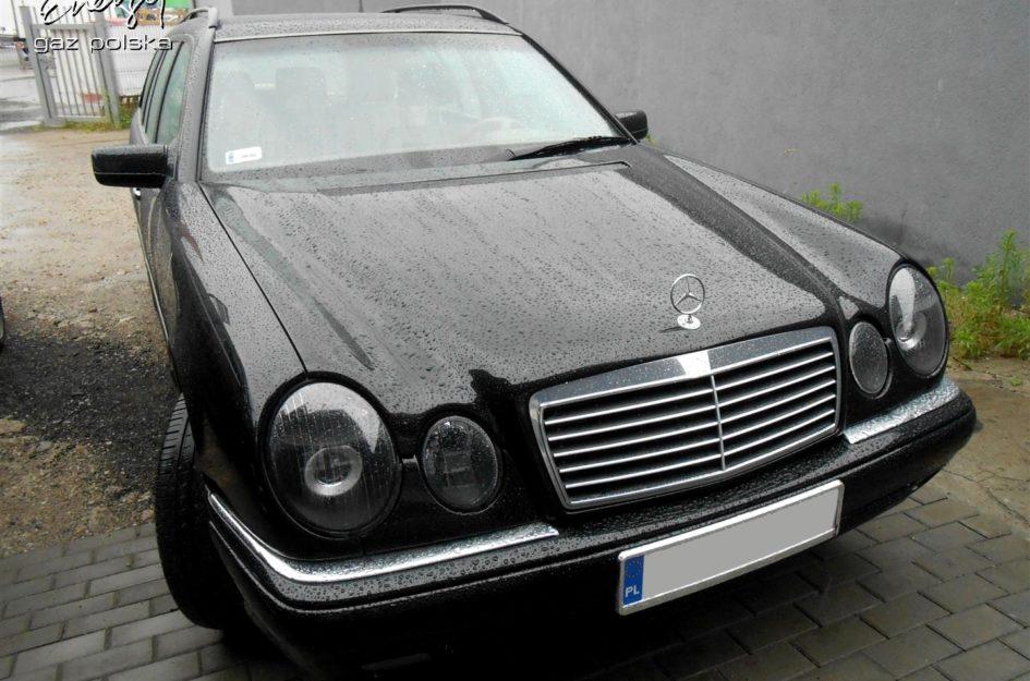 Mercedes E-klasa 3.2 1998r LPG