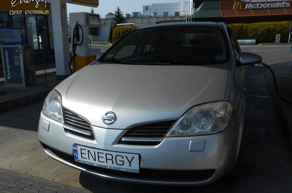 Nissan Primera 1.8 2002r LPG