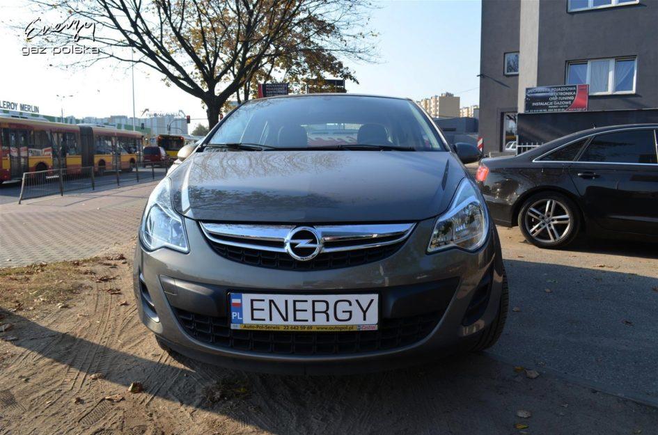 Opel Corsa 1.2 2011r LPG