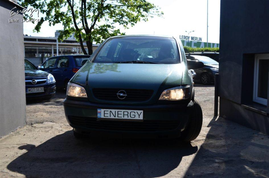 Opel Zafira 1.8 2002r LPG