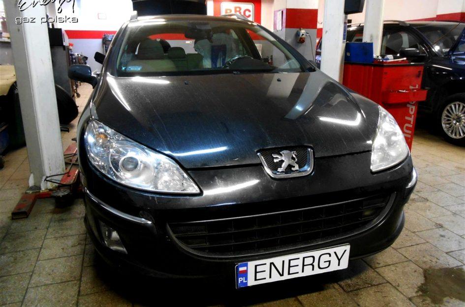 Peugeot 407 2.0 2006r LPG