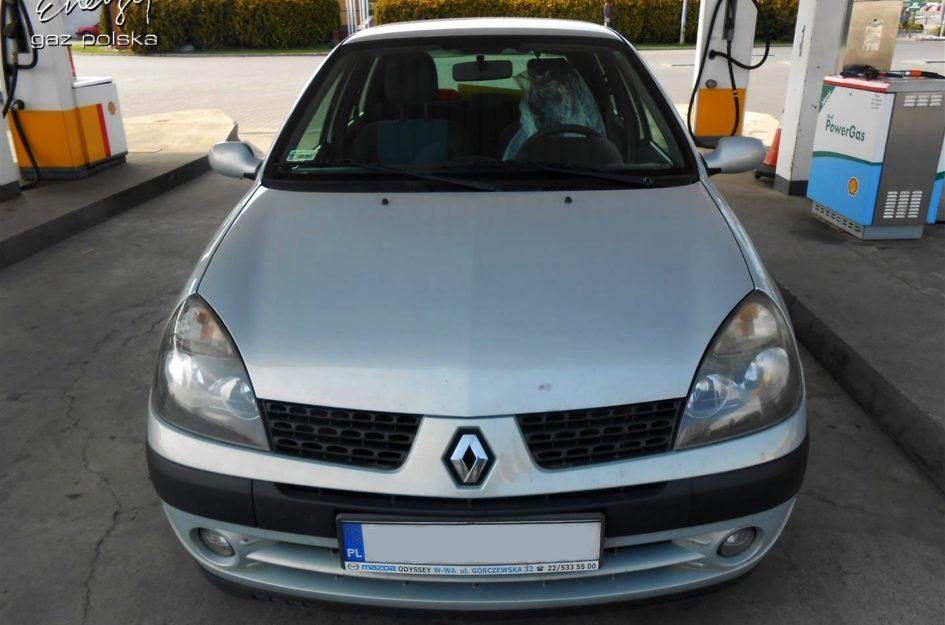 Renault Clio 1.4 2003r LPG