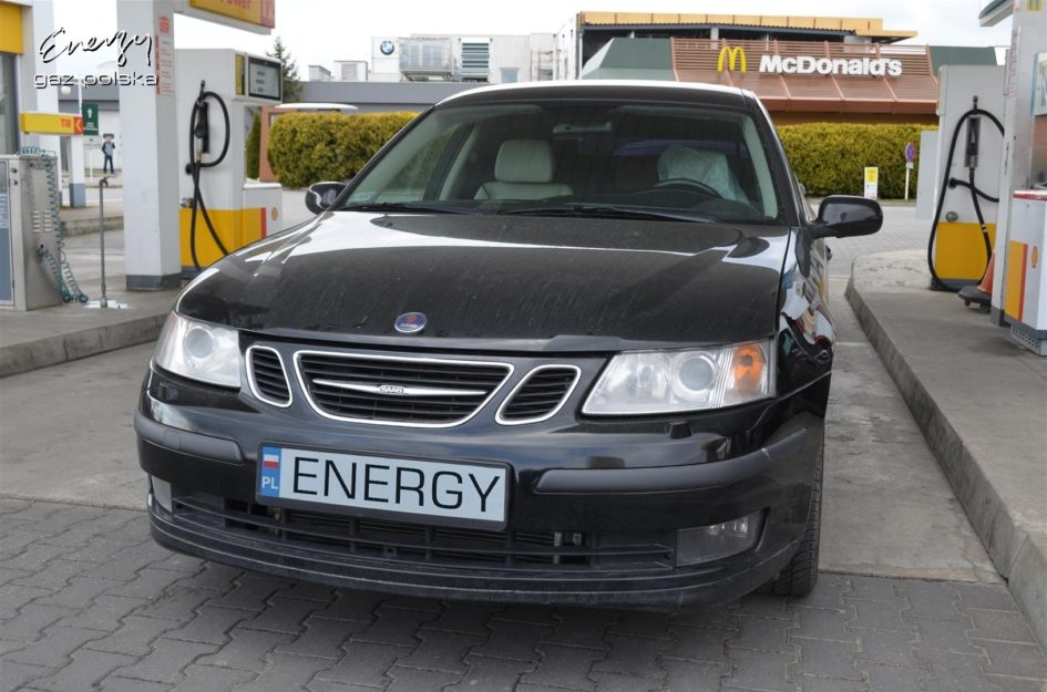 Saab 9-3 2.0T 2006r LPG