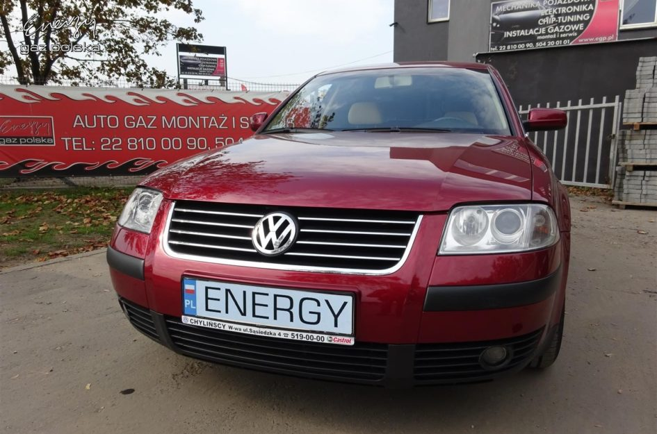 Volkswagen Passat 1.8T 2002r LPG