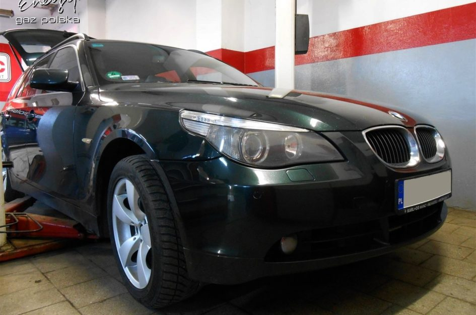 BMW 525 2.5 2006r LPG