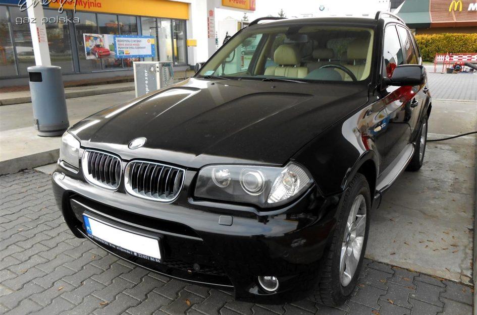 BMW X3 3.0 2003r LPG