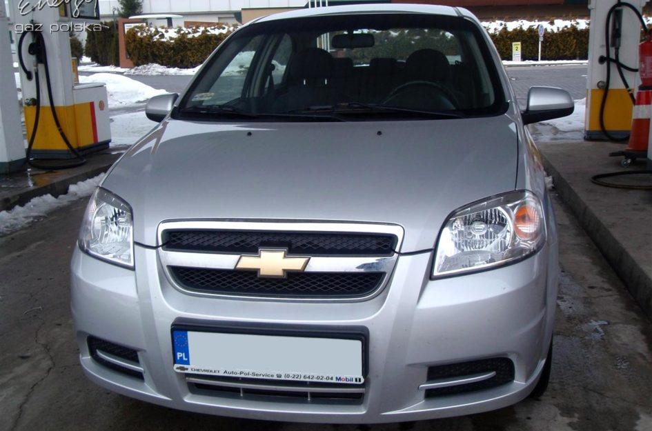 Chevrolet Aveo 1.4 2004r LPG