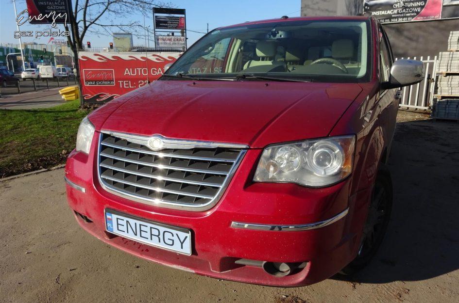 Chrysler Town & Country 4.0 2008r LPG