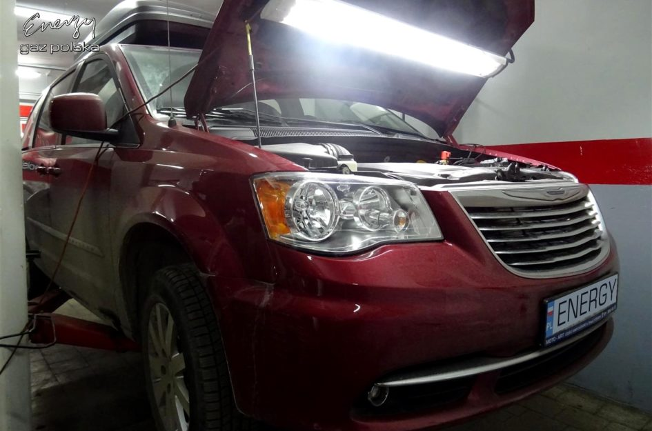 Chrysler Town and Country 3.6 2014r LPG