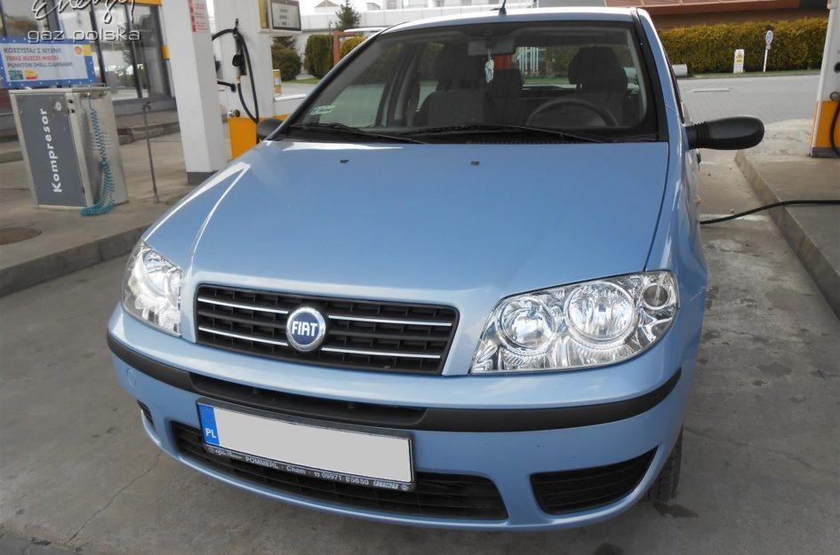 Fiat Punto 1.2 2006r LPG