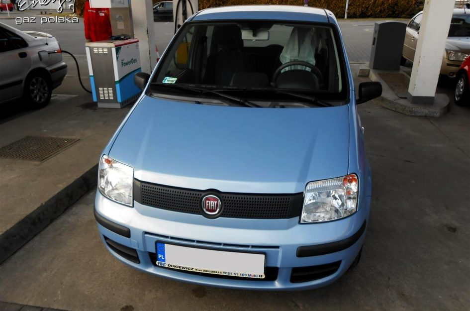 Fiat Panda 1.1 2009r LPG