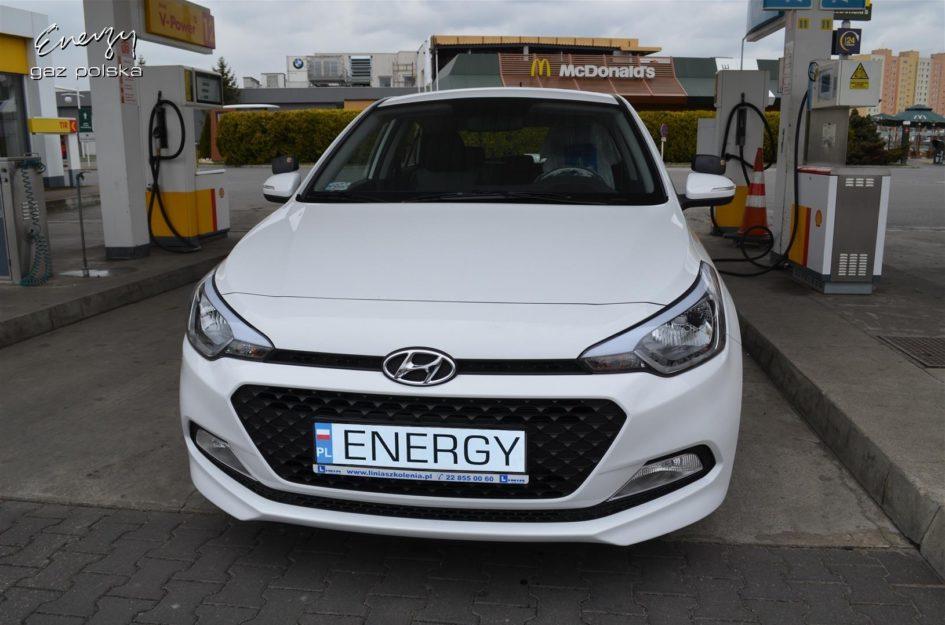 Hyundai i20 1.2 2014r LPG