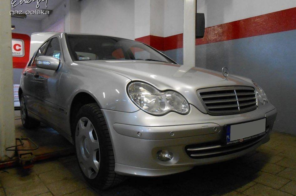 Mercedes C-Klasa 1.8 2004r LPG