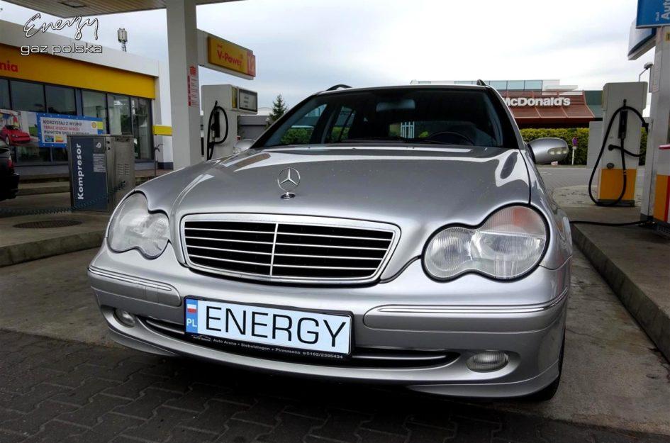 Mercedes C-Klasa 1.8 2001r LPG