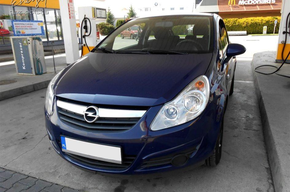 Opel Corsa 1.2 2008r LPG