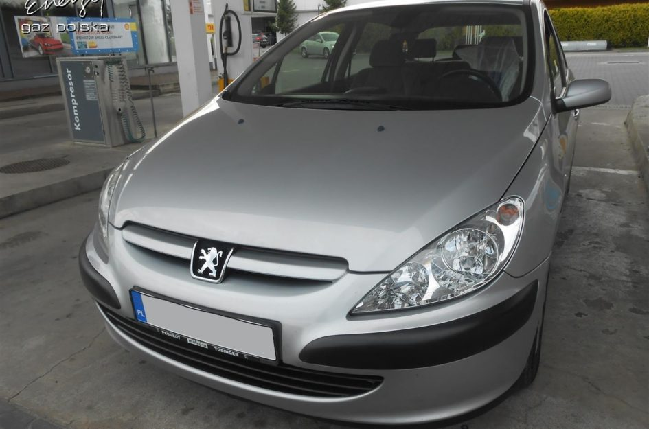 Peugeot 307 1.6 2002r LPG