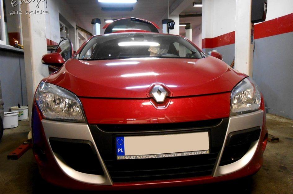 Renault Megane 1.6 2009r LPG