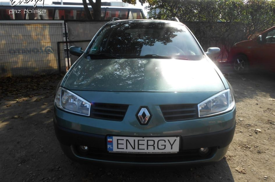 Renault Megane 1.6 2005r LPG