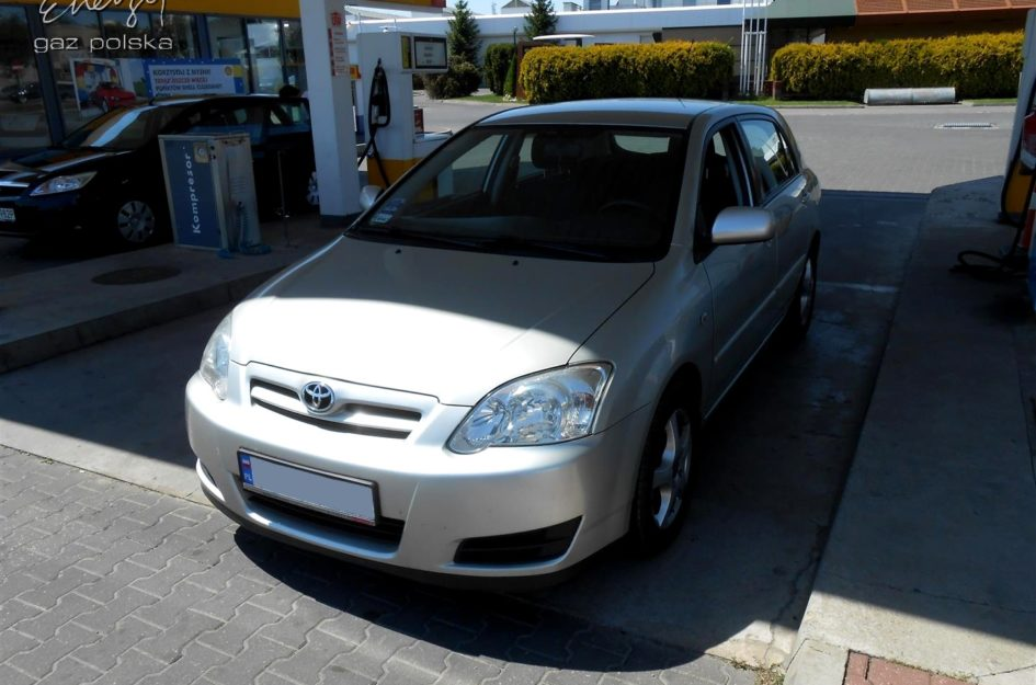 Toyota Corolla 1.4 2006r LPG