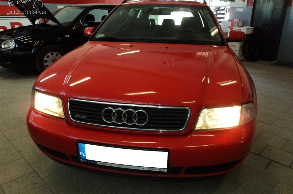 Audi A4 1.8T 1998r LPG