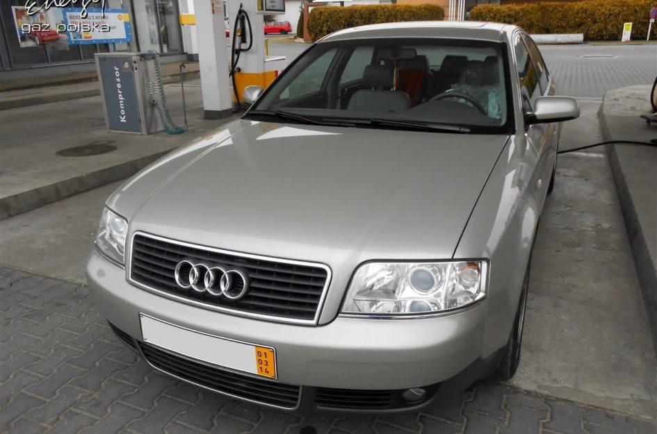 Audi A6 2.4 V6 2001r LPG