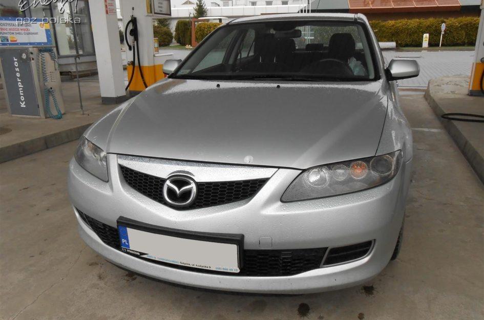 Mazda 6 2.0 2006r LPG